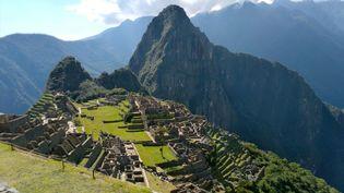 Le Machu Picchu vide, au Pérou le 15 juin 2020. (PERCY HURTADO / AFP)