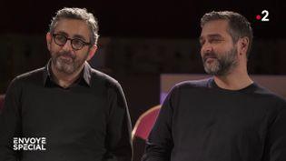 """Eric Toledano et Olivier Nakache racontent à """"Envoyé spécial"""" les coulisses du film """"Hors normes"""" (ENVOYÉ SPÉCIAL  / FRANCE 2)"""