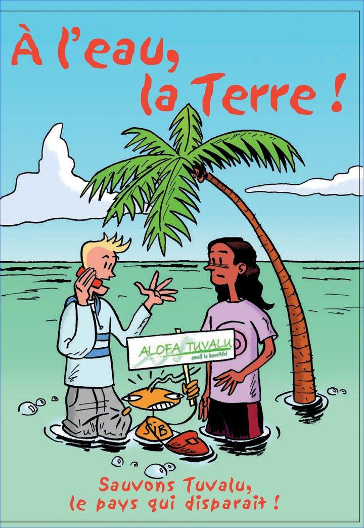 Une bande dessinée pour sensibiliser les plus jeunes au réchauffement climatique (Alofa Tuvalu )