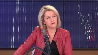 Barbara Pompili, ministre de la Transition écologique, vendredi 7 mai 2021 sur franceinfo. (FRANCEINFO / RADIOFRANCE)