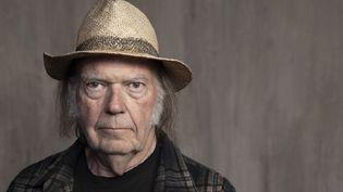 Portrait du chanteur américano-canadien Neil Young, Santa Monica (Californie), le 9 septembre 2019 (REBECCA CABAGE/AP/SIPA / SIPA)
