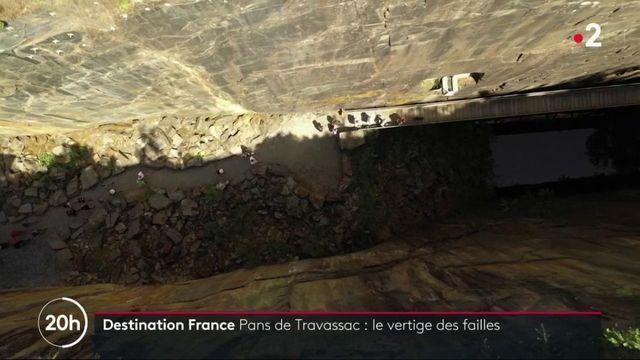 Pans de Travassac : le vertige des failles