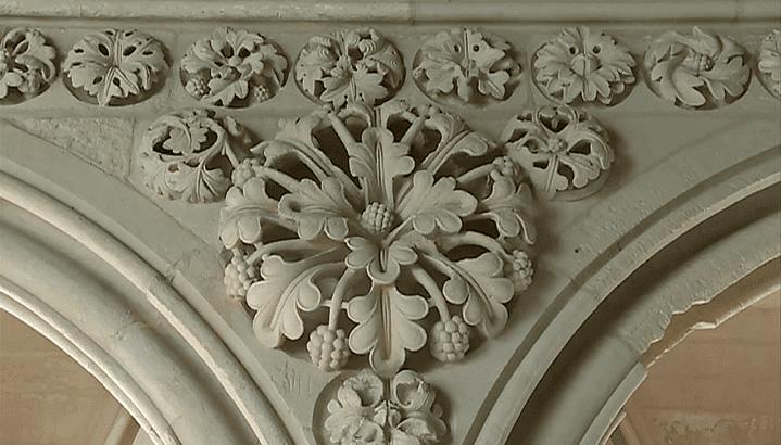 La pierre de Caen du cloître du Mont-Saint-Michel  (France 3 / Culturebox )