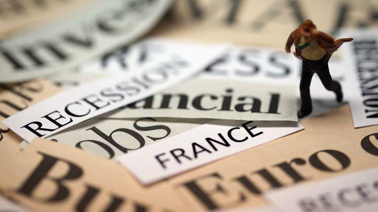 Le ministère des Finances prévoit un déficit à 4,3% du PIB pour 2015, au-delà des 3% autorisés par l'UE. (JOEL SAGET / AFP)