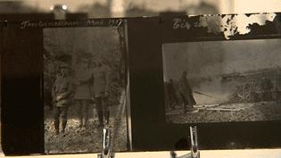Plaques de verre utilisées par Frédéric Prudhomme pour ses prises de vues  (Culturebox / Capture d'écran)