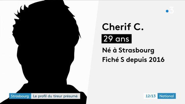 Strasbourg : le profil du tireur présumé