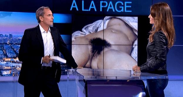 """La fascination de """"l'origine du monde""""...  (France 3)"""