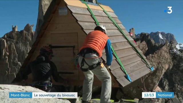 Mont-Blanc : sauvetage d'un bivouac sur les hauteurs de Chamonix
