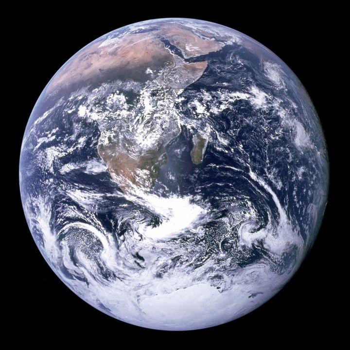 Le cliché de 1972. (NASA / AFP )