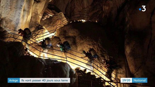 Ariège : des volontaires vont passer 40 jours sous terre