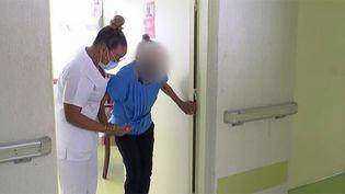 Prise en charge des malades en Martinique. (FRANCEINFO)