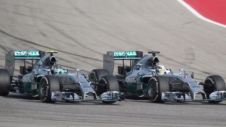 Lewis Hamilton prend le meilleur sur Nico Rosberg