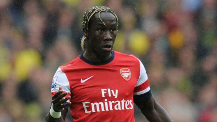 Le joueur français d'Arsenal Bacary Sagna