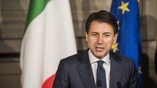 Giuseppe Conte, le chef du gouvernement italien, le 31 mai 2018, à Rome. (ALESSANDRO SERRANO / MAXPPP)