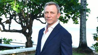 """Daniel Craig assiste à un événement """"Bond 25"""" organisé chez Ian Fleming (le créateur de James Bond), à Montego Bay, en Jamaïque, le 25 avril 2019 (SLAVEN VLASIC / GETTY IMAGES NORTH AMERICA / AFP)"""