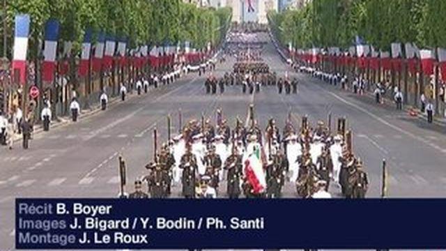 14-juillet : un défilé sous le signe de l'antiterrorisme