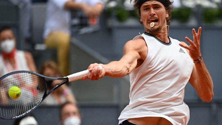 Alexander Zverev impose sa puissance sur le Masters 1000 de Madrid (GABRIEL BOUYS / AFP)