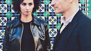 Rachida Brakni et Gaëtan Roussel, les deux voix de Lady Sir (DR)