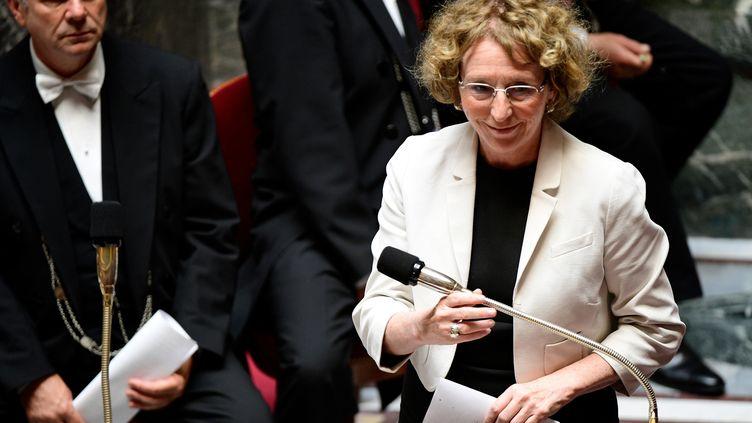 La ministre du Travail, Muriel Pénicaud, à l'Assemblée nationale le 5 juillet 2017. (MARTIN BUREAU / AFP)