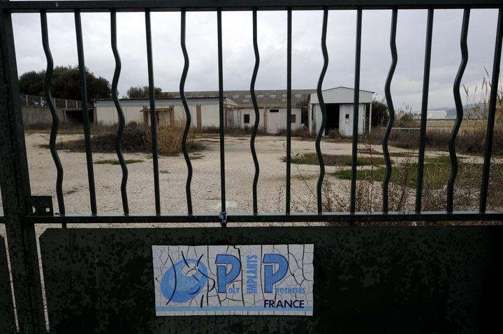 Les locaux de l'entreprise PIP, àLa Seyne sur Mer (Var), le 27 janvier 2012. ( MAXPPP)