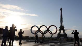 L'esplanade du Trocadero, près de la Tour Eiffel, à Paris, le 14 septembre 2017. (LUDOVIC MARIN / AFP)