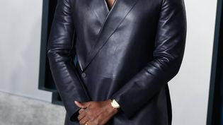 Le rappeur américain Kanye West arrive le 9 février 2020 à la fête de Vanity Fair à Los Angeles (Californie, Etats-Unis). (IMAGE PRESS AGENCY/SIPA USA/ SIPA USA)