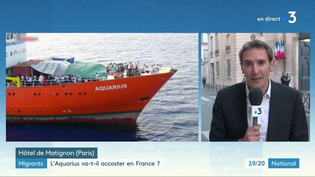 Accostage de l'Aquarius en France : quelle est la position du gouvernement français ?
