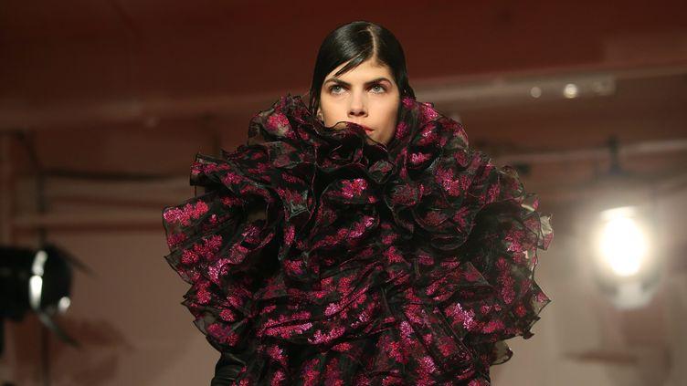 16Arlingtonpap féminin automne-hiver 2020-21 à la London Fashion Week, le 14 février 2020 (ISABEL INFANTES / MAXPPP)