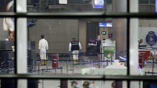 L'aéroport international d'Istanbul (Turquie) a été la cible d'un attentat meurtrier, le 28 juin 2016. (MAXPPP)