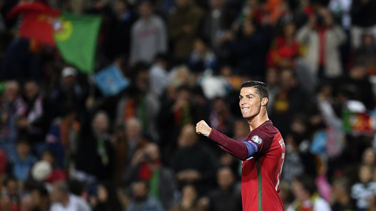 Cristiano Ronaldo a été l'un des grands artisans de la victoire des siens.  (FRANCISCO LEONG / AFP)
