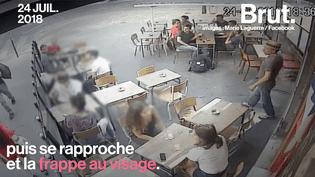 VIDEO. Frappée au visage dans la rue, elle a décidé de publier la vidéo de son agression (BRUT)