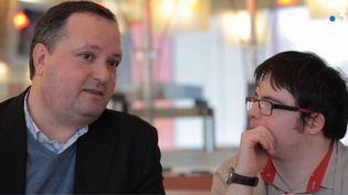 Christophe Collet, directeur de la restauration de Hôtel Ibis et Vincent (Capture d'écran)