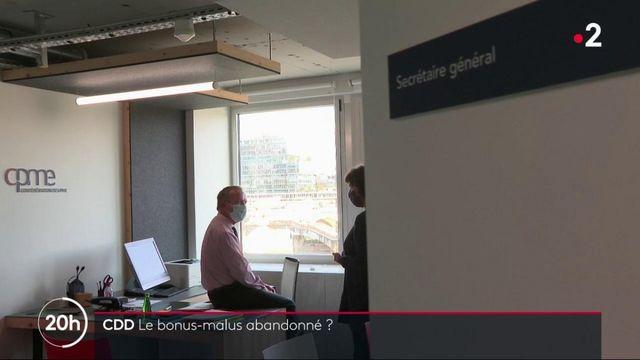 CDD : Le bonus-malus sur le point d'être abandonné ?