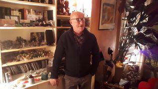 Alain Bonnineau, le 20 décembre. (SANDRINE ETOA-ANDEGUE / RADIO FRANCE)