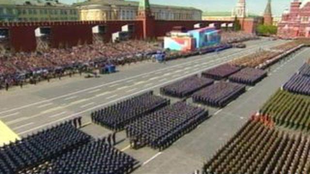 Russie : un gigantesque défilé militaire pour célébrer la capitulation de l'Allemagne nazie