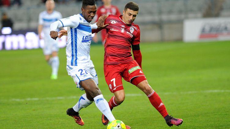 Troisième victoire consécutive pour Auxerre (J?R?MIE FULLERINGER / MAXPPP)