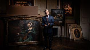 L'expert d'art Eric Turquin le 18 novembre 2020.  (MARTIN BUREAU / AFP)