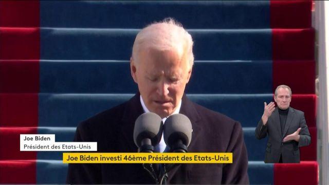 Etats-Unis : Joe Biden réclame un moment de silence pour les victimes du coronavirus