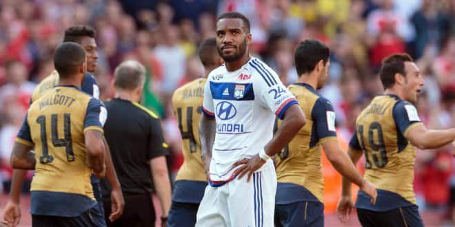 Alexandre Lacazette, l'attaquant de l'Olympique Lyonnais.