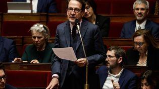 Gilles Le Gendre, lors d'une session de questions au gouvernement, à l'Assemblée nationale, le 11 décembre 2018. (THOMAS SAMSON / AFP)