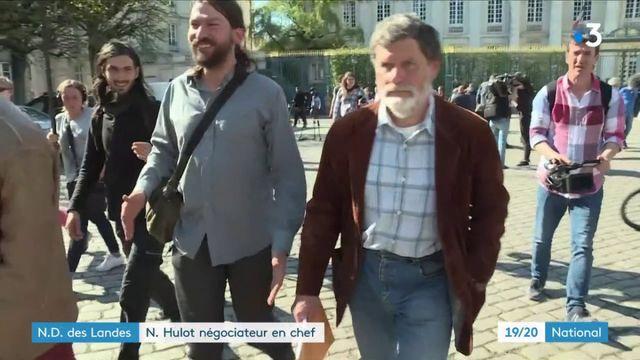 Notre-Dame-des-Landes : quel premier bilan pour le négociateur Nicolas Hulot ?