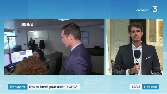 Transports : un plan d'aide pour aider la SNCF