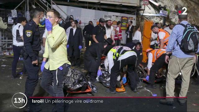 Israël : un mouvement de foule fait au moins 44 victimes