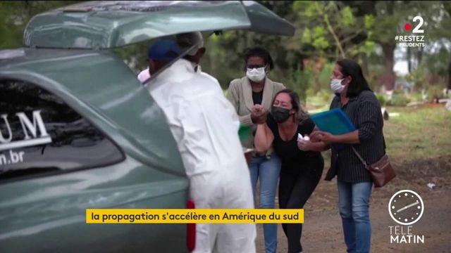 Coronavirus: la propagation s'accélère en Amérique du Sud