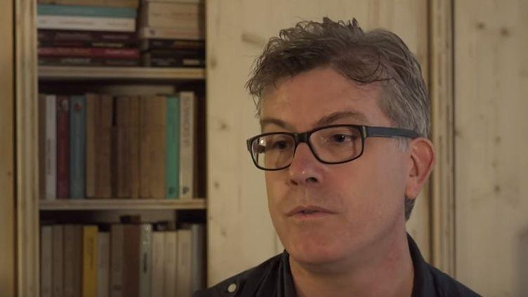 """Laird Hunt évoque son roman """"Neverhome"""" (Actes Sud)  (Capture d'écran)"""