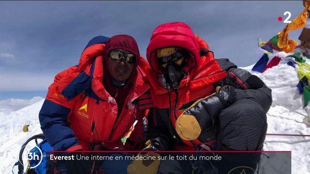 Everest : une interne en médecine a atteint le toit du monde
