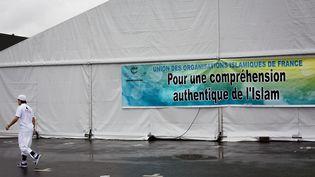 Illustration de la 32e Rencontre annuelle des musulmans de France organisee au Bourget par l'Union des Organisations Islamiques de France, le 4 avril 2015. (MAXPPP)