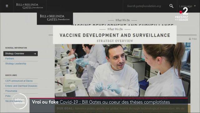 Vrai ou Fake : Bill Gates développe-t-il réellement un vaccin contre le Covid-19 qui géolocaliserait la population ?