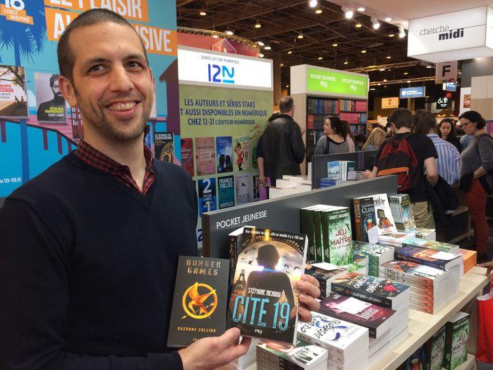 """Xavier D'Almeida, éditeur Pocket Jeunesse, découvreur de """"Hunger Games""""  (Laurence Houot / Culturebox)"""