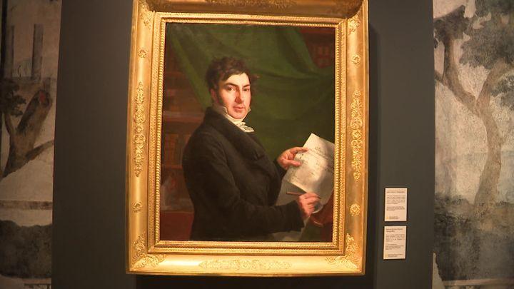 Jean-François Champollion -Musée Champollion - Vif (Isère) (D. Semet. / France Télévisions)